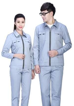 企业为什么选择定做全棉工作服呢?